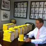 Book signing for Oswald Insurance